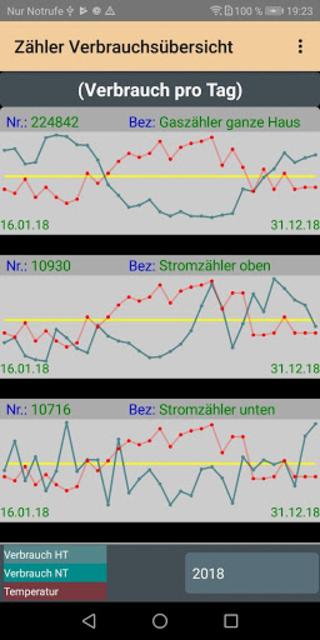 HB-Verbrauchszähler screenshot 3