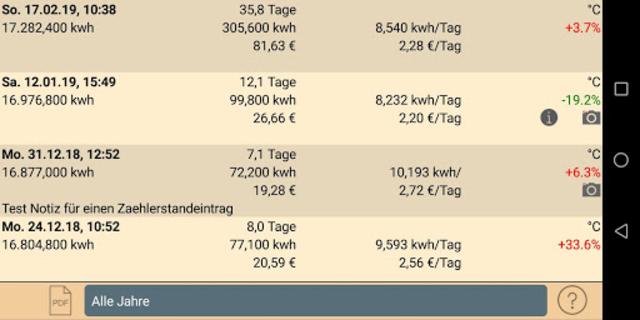 HB-Verbrauchszähler screenshot 5
