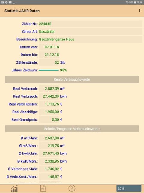 HB-Verbrauchszähler screenshot 12