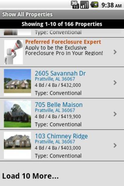 USHUD.com Property Search - Classic screenshot 3
