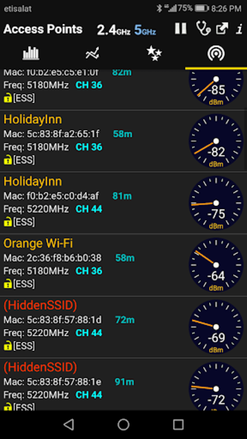 WiFi Analyzer Premium screenshot 5