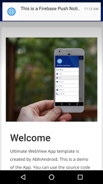 Ultimate WebView App Demo screenshot 6