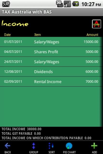 Expense & Tax Manager screenshot 1