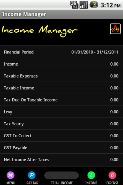 Expense & Tax Manager screenshot 3