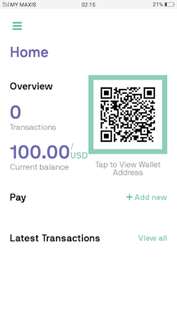 OneMove - The Currency App For Libra Blockchain screenshot 2