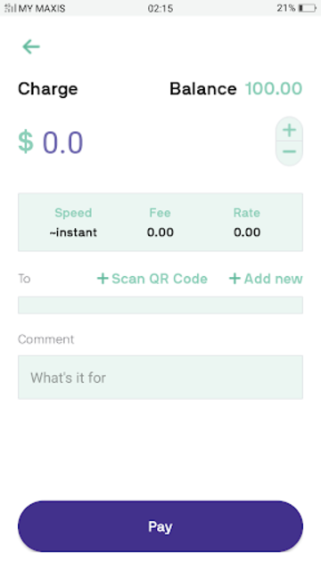 OneMove - The Currency App For Libra Blockchain screenshot 3