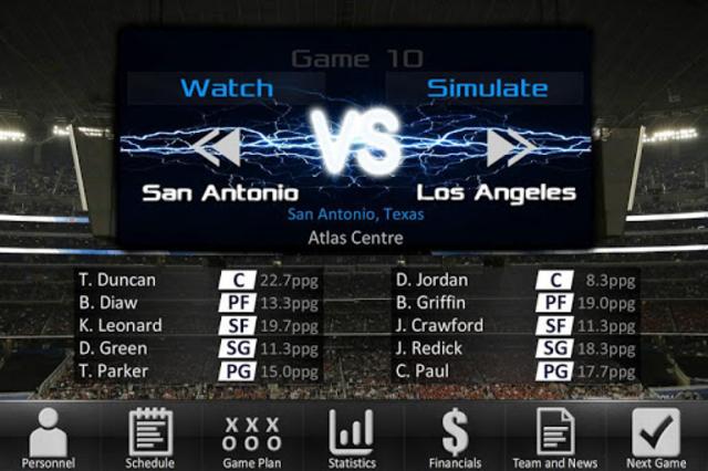 Basketball Dynasty Manager 16 screenshot 3