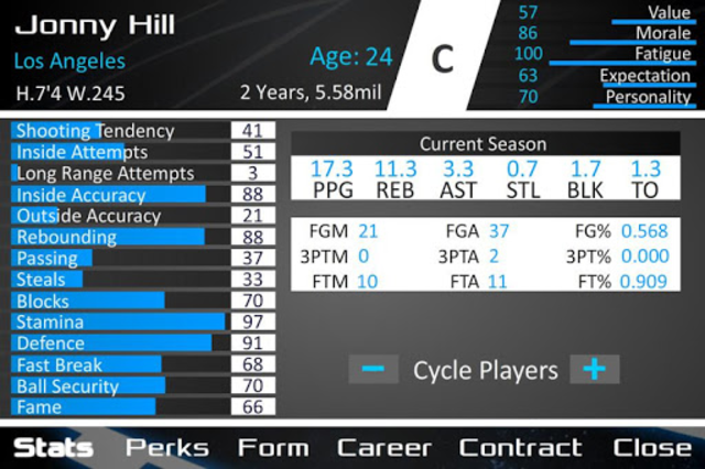 Basketball Dynasty Manager 16 screenshot 4