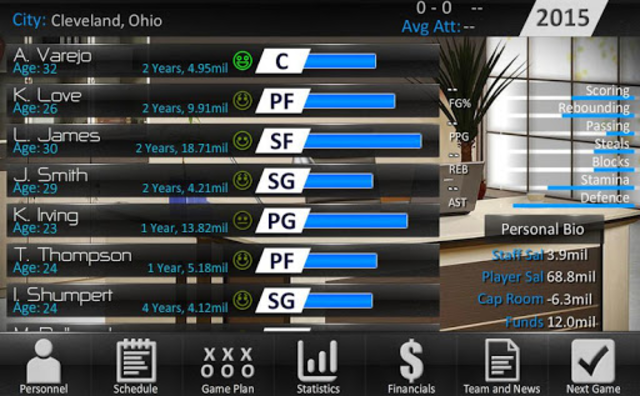 Basketball Dynasty Manager 16 screenshot 13