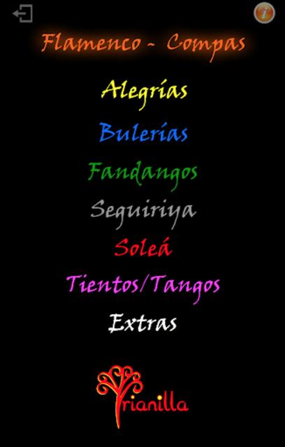 Flamenco Compas screenshot 1