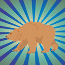 Bear Hunt addictive platform game