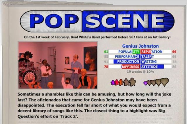 Popscene (Music Industry Sim) screenshot 4
