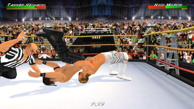 Wrestling Revolution 3D screenshot 2