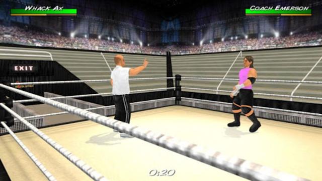 Wrestling Revolution 3D screenshot 6