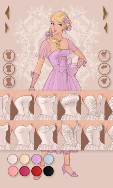 Wedding Dress Design screenshot 3