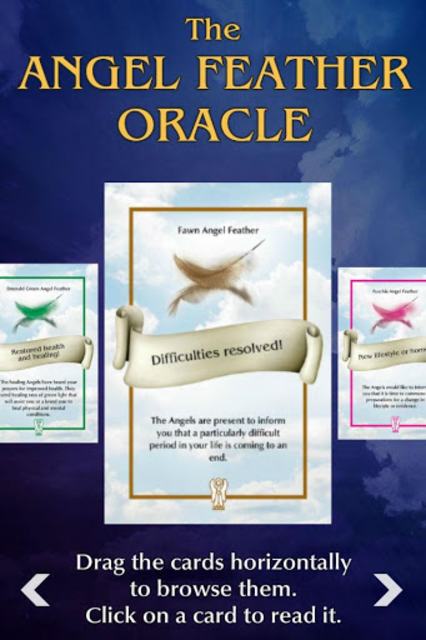 Angel Feather Oracle Cards screenshot 4