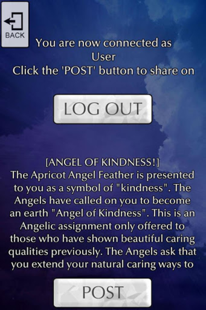 Angel Feather Oracle Cards screenshot 12