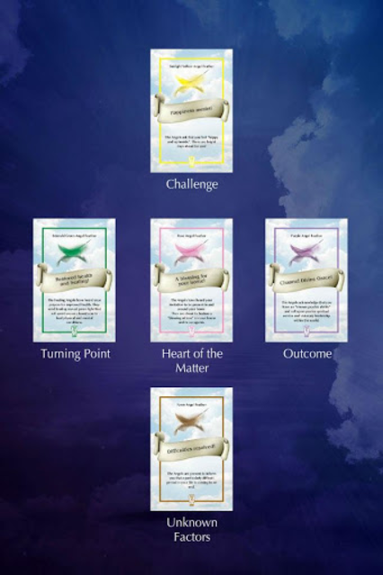 Angel Feather Oracle Cards screenshot 17