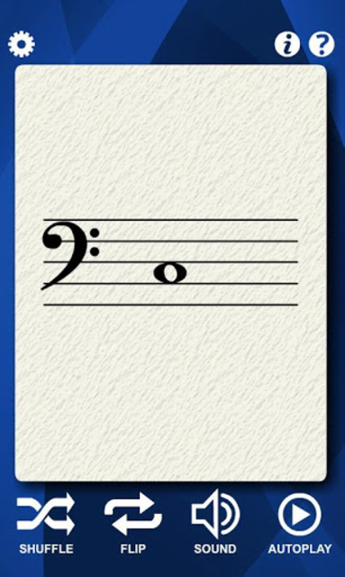Cello Notes Flash Cards screenshot 4