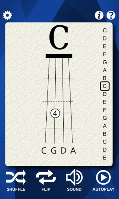 Cello Notes Flash Cards screenshot 5