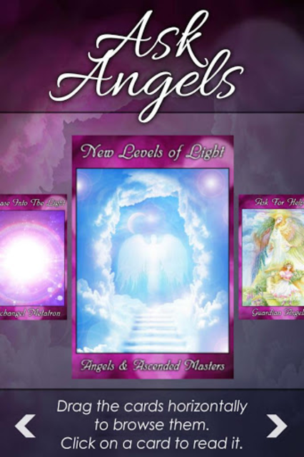 Ask Angels Oracle Cards screenshot 4