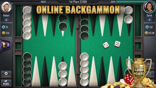 Backgammon Online - Lord of the Board - Table Game screenshot 11