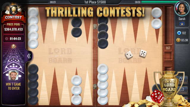 Backgammon Online - Lord of the Board - Table Game screenshot 12