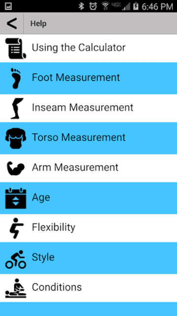 Fit Kit Calculator screenshot 3