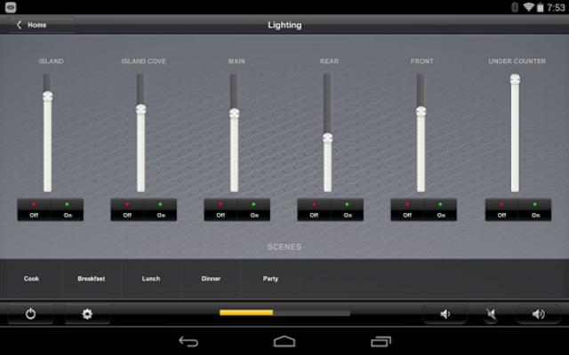 Crestron App screenshot 9