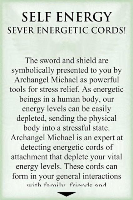 Archangel Michael Oracle Deck screenshot 3