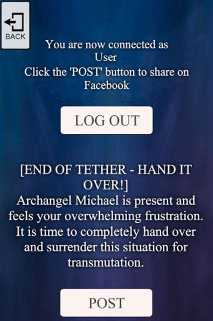 Archangel Michael Oracle Deck screenshot 12