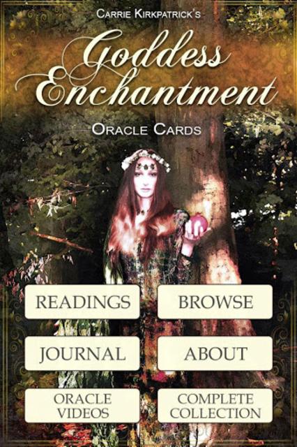 Goddess Enchantment Oracle screenshot 1