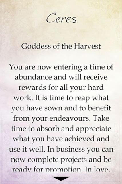 Goddess Enchantment Oracle screenshot 3