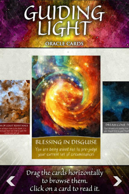 Guiding Light Oracle Cards screenshot 4