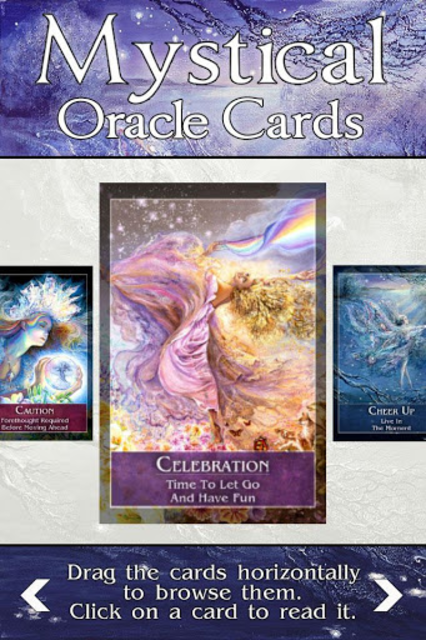 Mystical Oracle Cards screenshot 4