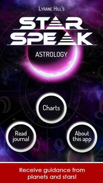 Starspeak Astrology Oracle screenshot 1