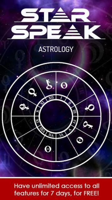 Starspeak Astrology Oracle screenshot 2