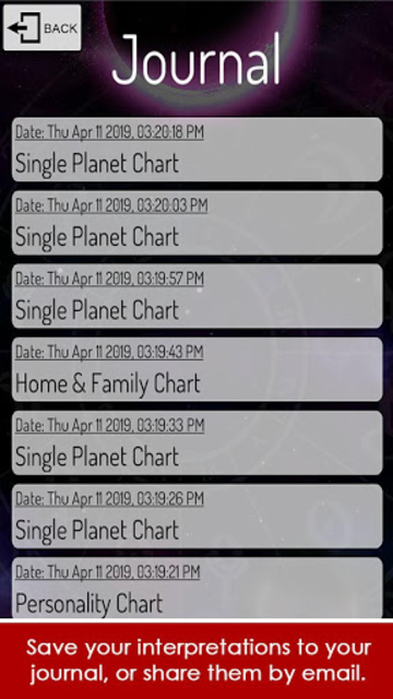 Starspeak Astrology Oracle screenshot 5