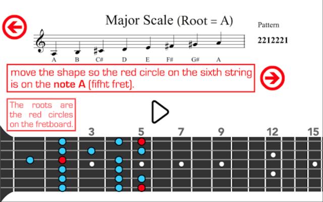 Guitar Scales PRO screenshot 22