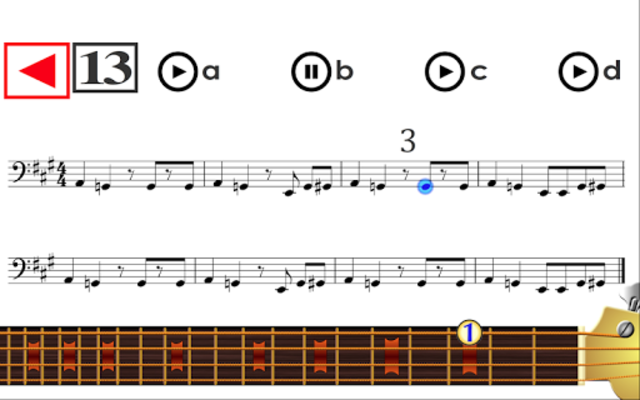 Learn to play Bass Guitar PRO screenshot 2