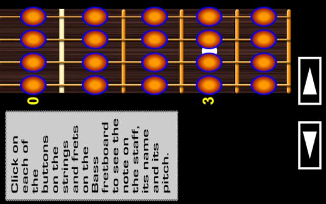 Bass Guitar Notes PRO screenshot 1
