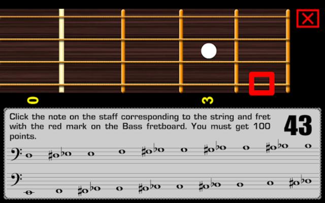 Bass Guitar Notes PRO screenshot 4