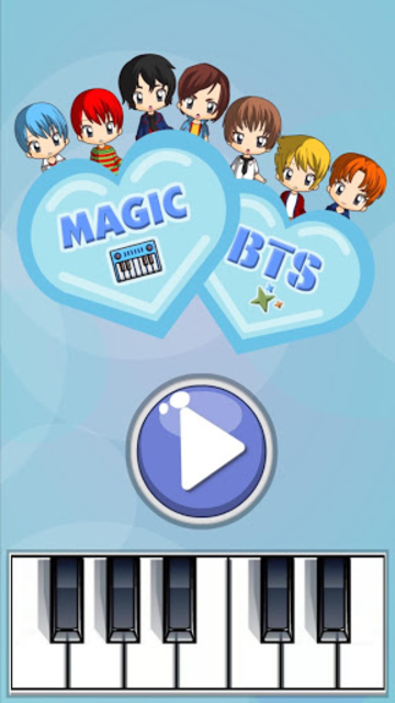 Magic Tiles - BTS Edition (K-Pop) screenshot 1