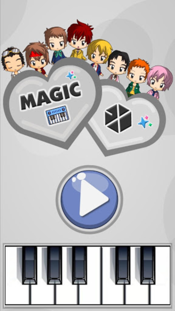 Magic Tiles - EXO Edition (K-Pop) screenshot 1