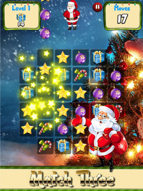 Christmas Games Match 3 puzzle & candy matching screenshot 1