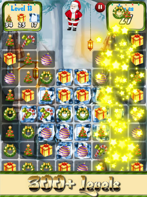 Christmas Games Match 3 puzzle & candy matching screenshot 3