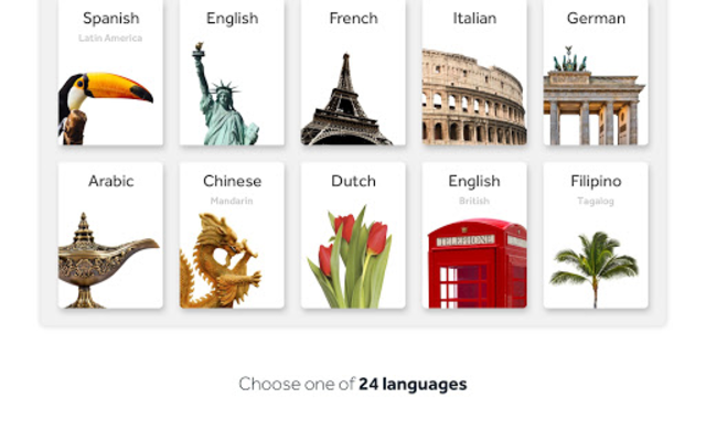 Rosetta Stone: Learn Languages screenshot 8