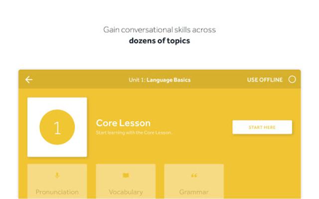 Rosetta Stone: Learn Languages screenshot 11