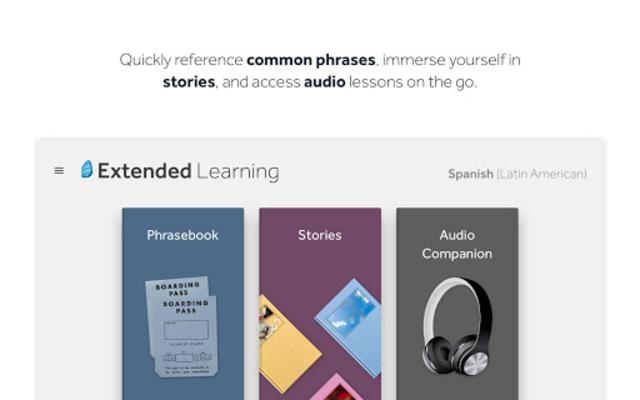 Rosetta Stone: Learn Languages screenshot 12