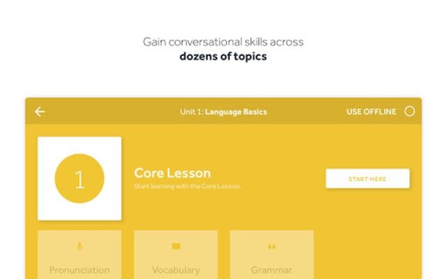 Rosetta Stone: Learn Languages screenshot 17